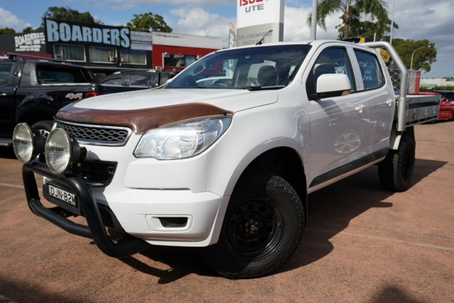 Used Holden Colorado RG MY16 LS (4x4) Brookvale, 2016 Holden Colorado RG MY16 LS (4x4) White 6 Speed Automatic Crew Cab Pickup