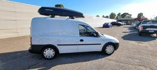 2011 Holden Combo XC MY11 White 5 Speed Manual Van.