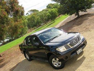 2010 Nissan Navara D40 ST Cosmic Black/grey Cl 6 Speed Manual Utility