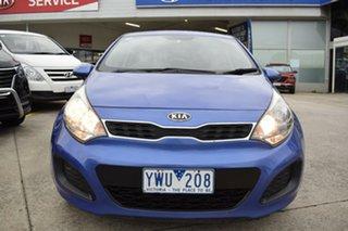 2012 Kia Rio UB MY12 S Blue 4 Speed Sports Automatic Hatchback.