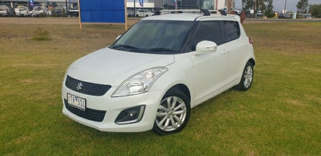 Used Suzuki Swift FZ MY15 GL Navigator Melton, 2015 Suzuki Swift FZ MY15 GL Navigator White 4 Speed Automatic Hatchback