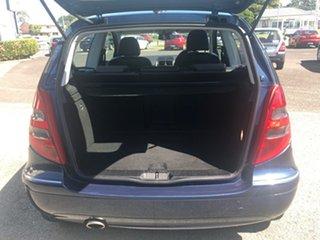 2005 Mercedes-Benz A-Class W169 A170 Classic Blue 5 Speed Manual Hatchback