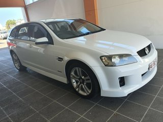 2010 Holden Commodore VE MY10 SV6 Sportwagon White 6 Speed Sports Automatic Wagon