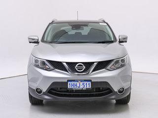 2017 Nissan Qashqai J11 TL Silver, Chrome Continuous Variable Wagon.