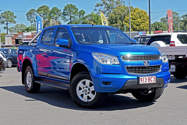 Used Holden Colorado RG MY13 LT Crew Cab Chandler, 2013 Holden Colorado RG MY13 LT Crew Cab Blue 6 Speed Sports Automatic Utility