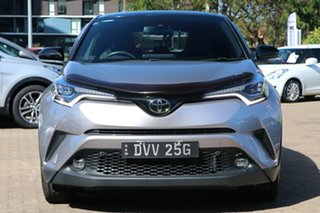 2018 Toyota C-HR NGX50R Koba S-CVT AWD Silver 7 Speed Constant Variable Wagon