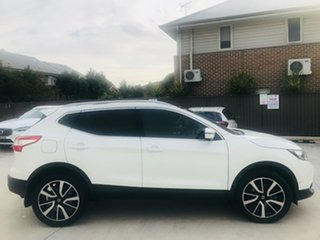 2017 Nissan Qashqai J11 TI White 6 Speed Manual Wagon