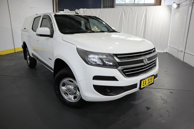 Used Holden Colorado RG MY17 LS Pickup Crew Cab 4x2 Castle Hill, 2016 Holden Colorado RG MY17 LS Pickup Crew Cab 4x2 White 6 Speed Sports Automatic Utility