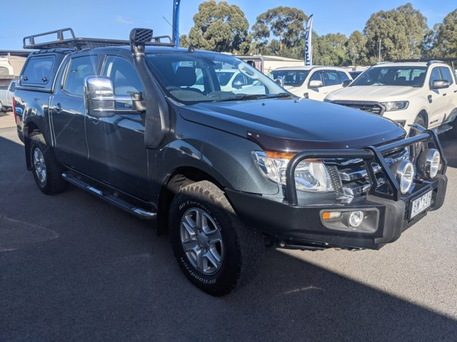 Used Ford Ranger PX XLT Double Cab Epsom, 2014 Ford Ranger PX XLT Double Cab Metropolitan Grey 6 Speed Sports Automatic Utility
