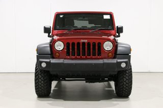 2011 Jeep Wrangler JK MY11 Sport (4x4) Burgundy 6 Speed Manual Softtop.