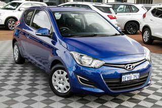 2015 Hyundai i20 PB MY15 Active Blue 6 Speed Manual Hatchback.