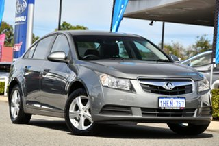2009 Holden Cruze JG CD Grey 5 Speed Manual Sedan.