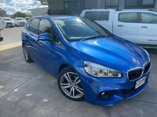 2015 BMW 2 Series F45 220i Active Tourer Steptronic Luxury Line Blue 8 Speed Automatic Hatchback.