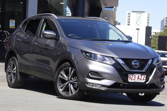 Demo Nissan Qashqai MY20 ST-L Newstead, 2020 Nissan Qashqai MY20 ST-L Gun Metallic Continuous Variable Wagon