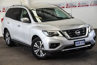2017 Nissan Pathfinder R52 MY17 Series 2 ST (4x2) Silver Continuous Variable Wagon.