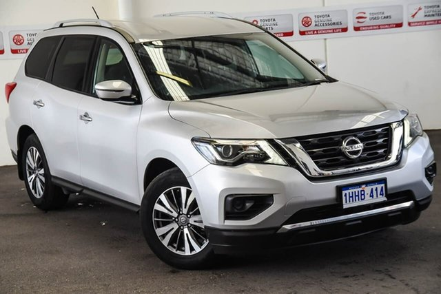 Pre-Owned Nissan Pathfinder R52 MY17 Series 2 ST (4x2) Myaree, 2017 Nissan Pathfinder R52 MY17 Series 2 ST (4x2) Silver Continuous Variable Wagon