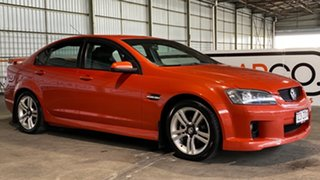 2006 Holden Commodore VE SV6 Orange 5 Speed Sports Automatic Sedan