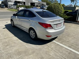 2014 Hyundai Accent RB2 MY15 Active Silver 4 Speed Sports Automatic Sedan