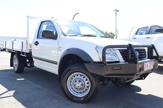 2006 Holden Rodeo RA MY06 LX 4x2 White 4 Speed Automatic Cab Chassis.