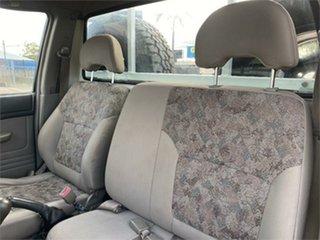 2001 Nissan Patrol GU DX White 5 Speed Manual Cab Chassis