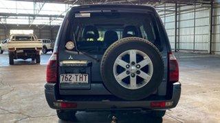 2005 Mitsubishi Pajero NP MY05 Exceed Blue 5 Speed Sports Automatic Wagon