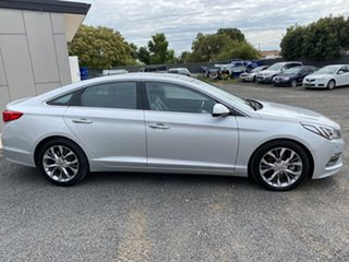 2015 Hyundai Sonata LF Premium Silver 6 Speed Automatic Sedan.