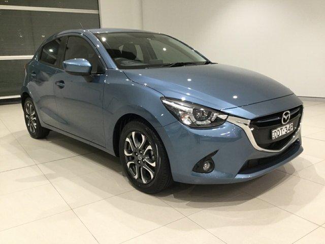 Used Mazda 2 DJ2HAA Genki SKYACTIV-Drive Alexandria, 2016 Mazda 2 DJ2HAA Genki SKYACTIV-Drive Gunmetal Blue/dj 6 Speed Sports Automatic Hatchback