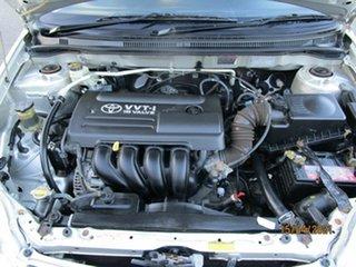 2005 Toyota Corolla ZZE122R Ascent Silver 4 Speed Automatic Sedan
