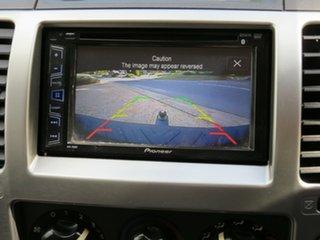 2010 Nissan Navara D40 ST Black 6 Speed Manual Utility
