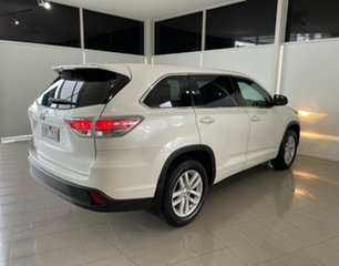 2015 Toyota Kluger GSU50R GX 2WD White 6 Speed Sports Automatic Wagon.