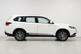 2018 Mitsubishi Outlander ZL MY18.5 ES 7 Seat (2WD) White Continuous Variable Wagon