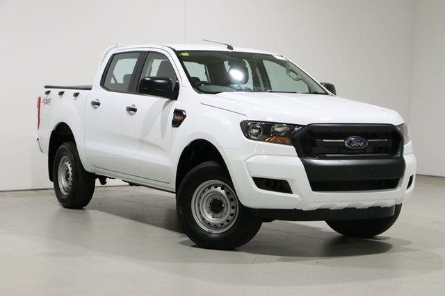Used Ford Ranger PX MkII MY18 XL 2.2 (4x4) Bentley, 2018 Ford Ranger PX MkII MY18 XL 2.2 (4x4) White 6 Speed Automatic Crew Cab Utility