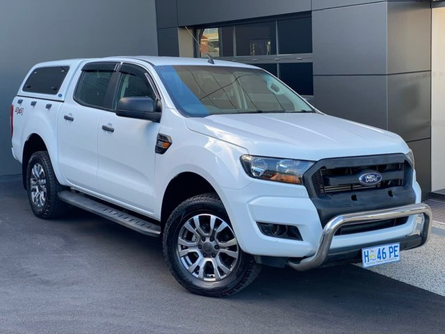 Used Ford Ranger PX MkII 2018.00MY XL Hobart, 2017 Ford Ranger PX MkII 2018.00MY XL White 6 Speed Sports Automatic Utility