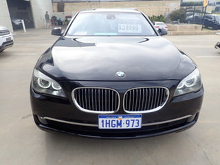 2011 BMW 740i F01 MY11 Black Magic 6 Speed Auto Steptronic Sedan.