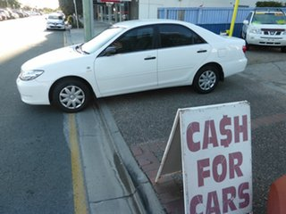 2004 Toyota Camry ACV36R Altise White 4 Speed Automatic Sedan.