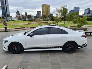 2019 Mercedes-Benz CLA-Class C118 809MY CLA200 D-CT White 7 Speed Sports Automatic Dual Clutch Coupe