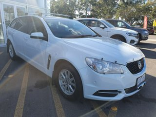 2013 Holden Commodore VF MY14 Evoke Sportwagon White 6 Speed Sports Automatic Wagon.