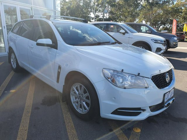 Used Holden Commodore VF MY14 Evoke Sportwagon Epsom, 2013 Holden Commodore VF MY14 Evoke Sportwagon White 6 Speed Sports Automatic Wagon