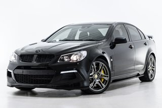 2016 Holden Special Vehicles ClubSport Gen-F2 MY16 R8 Track Edition Black 6 Speed Manual Sedan