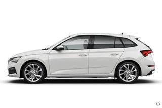 2020 Skoda Scala NW MY21 110TSI DSG White 7 Speed Sports Automatic Dual Clutch Hatchback.