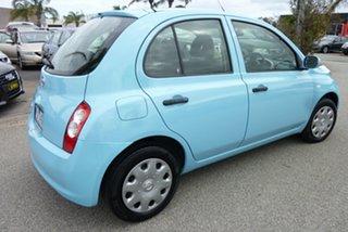 2008 Nissan Micra K12 Powder Blue 4 Speed Automatic Hatchback