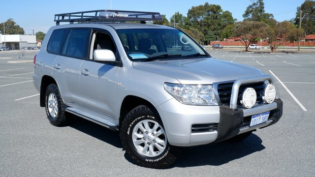 Used Toyota Landcruiser UZJ200R MY10 GXL Maddington, 2009 Toyota Landcruiser UZJ200R MY10 GXL Silver 5 Speed Sports Automatic Wagon