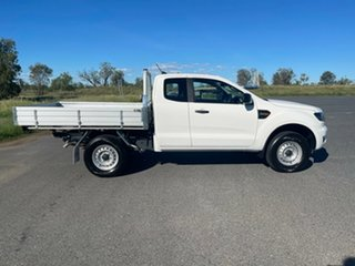 2020 Ford Ranger PX MkIII 2021.25MY XL White 6 Speed Sports Automatic Super Cab Chassis