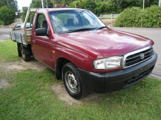 2001 Mazda B2600 Bravo DX Maroon 5 Speed Manual Pickup