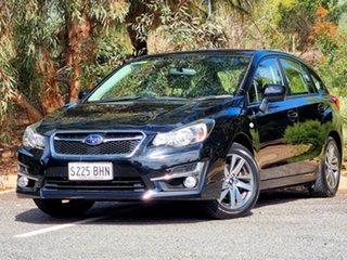 2015 Subaru Impreza G4 MY15 2.0i AWD Premium Black 6 Speed Manual Hatchback