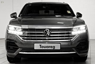 2021 Volkswagen Touareg CR MY21 210TDI Tiptronic 4MOTION R-Line Grey 8 Speed Sports Automatic Wagon.