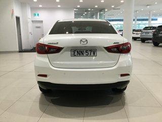 2016 Mazda 2 DL2SAA Neo SKYACTIV-Drive Snowflake White 6 Speed Sports Automatic Sedan