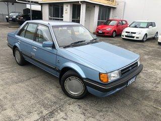 1986 Ford Meteor GC Ghia Blue 3 Speed Automatic Sedan.