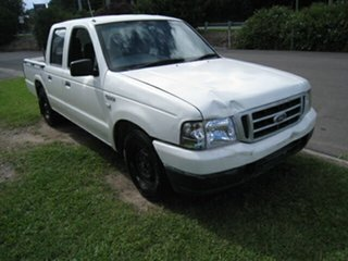 2005 Ford Courier PH GL White 5 Speed Manual Crew Cab Pickup