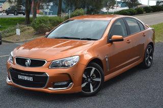 2017 Holden Commodore VF II MY17 SV6 Light My Fire 6 Speed Sports Automatic Sedan.